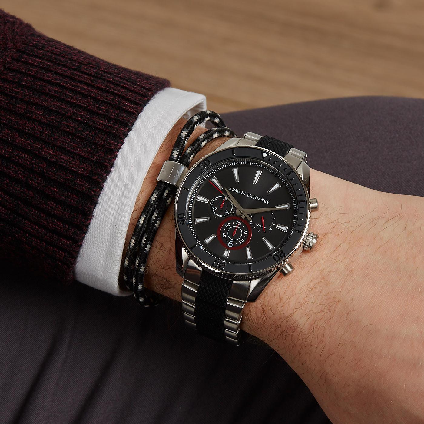 Armani Exchange Enzo horloge AX7106