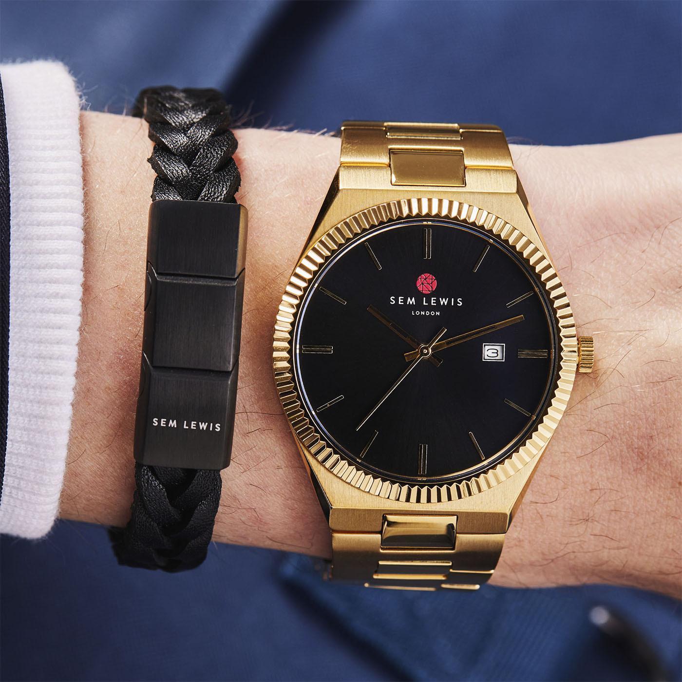 Sem Lewis Bakerloo Paddington Armband SL220032 (Lengte: 19.50-21.00 cm)