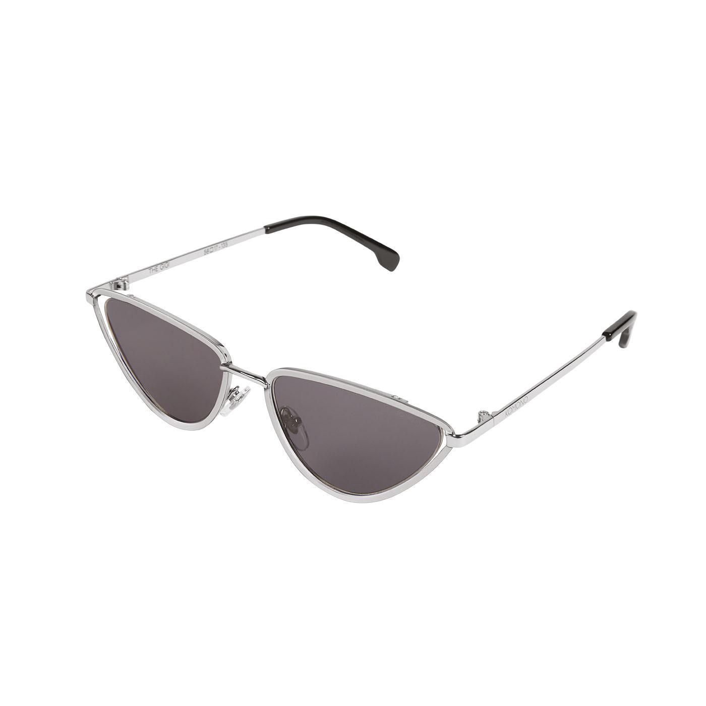 Komono Gigi Silver-coloured Smoke Okulary Przeciwsłoneczne KOM-S5552