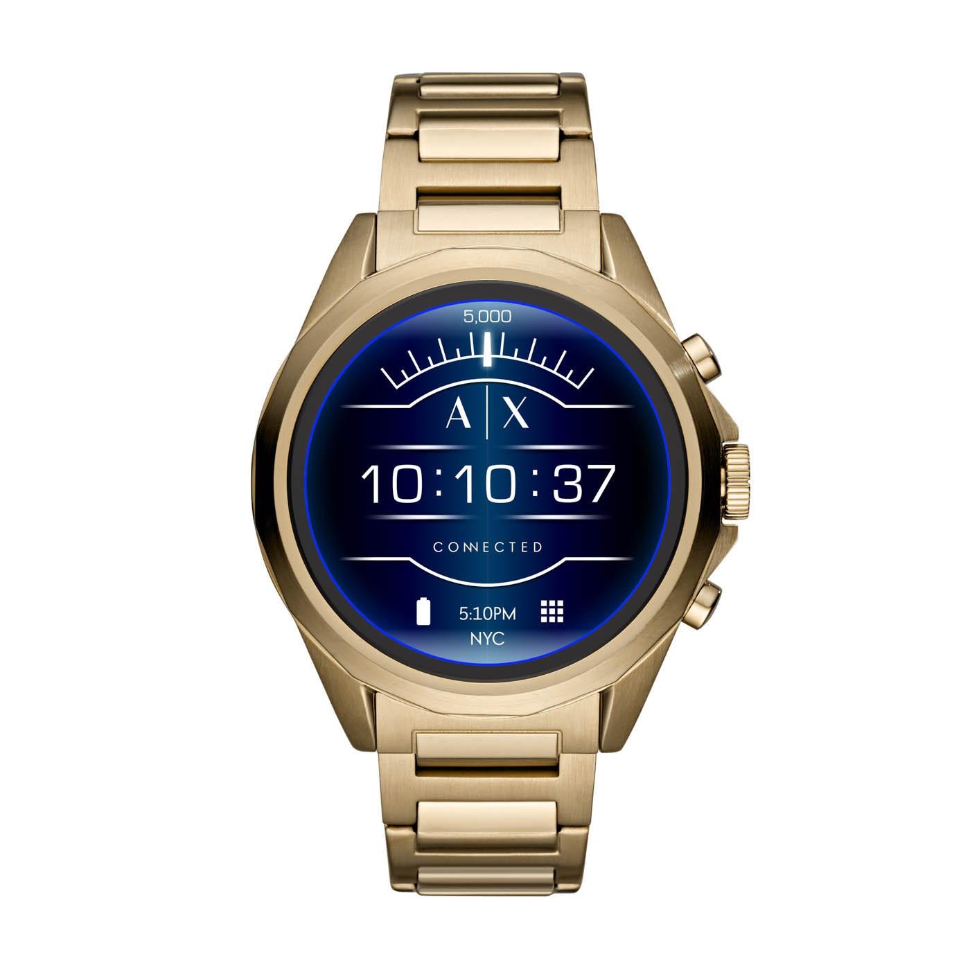 Armani Exchange Connected Drexler Gen 4 Display Smartwatch AXT2001