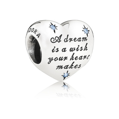 Pandora 925 Sterling Zilveren Disney Cinderella Dream Bedel 791593CFL