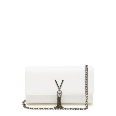 Valentino Bags Divina Bianco Clutch VBS1R401GBIANCO