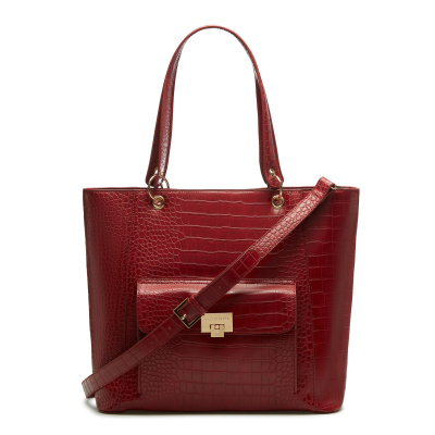 May Sparkle The Daily Red Croco Shopper MS25002