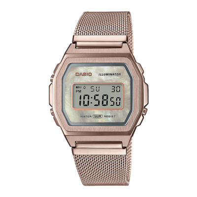 Casio Vintage Iconic horloge A1000MCG-9EF