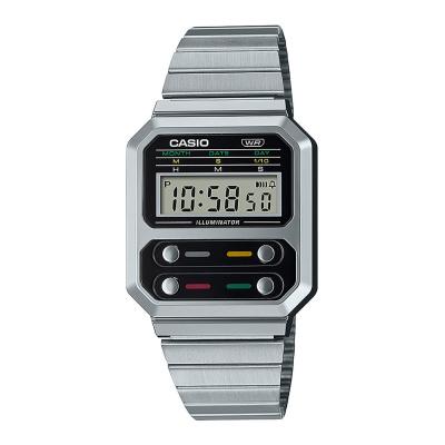 Casio Vintage Edgy horloge A100WE-1AEF