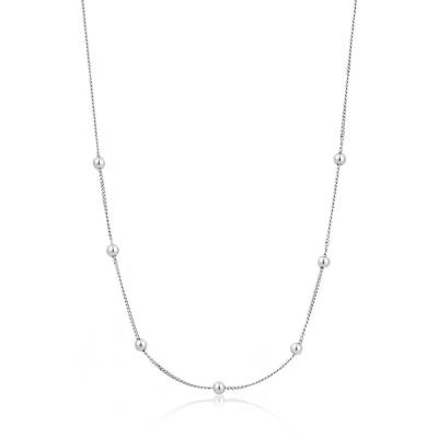 Ania Haie 925 Sterling Zilveren Modern Minimalism Collier AH-N002-03H (Lengte: 35.00 cm)