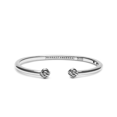 Buddha to Buddha Refined Katja Bangle 011 (Lengte: 17.00-19.00 cm)