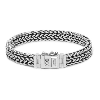 Buddha to Buddha 925 Sterling Zilveren Julius Small Armband 191 (Lengte: 17.00-19.00 cm)