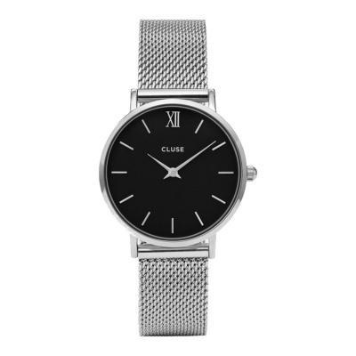 CLUSE Minuit Zilverkleurig Horloge CW0101203005