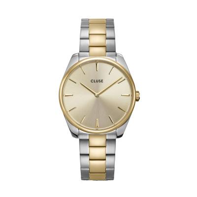 CLUSE Féroce Zilverkleurig/Goudkleurig horloge CW0101212004