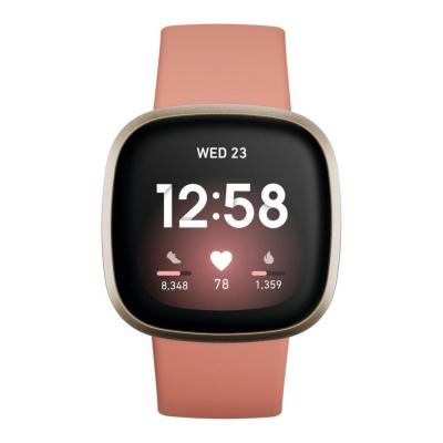 Fitbit Versa 3 Roségoud display smartwatch FB511GLPK