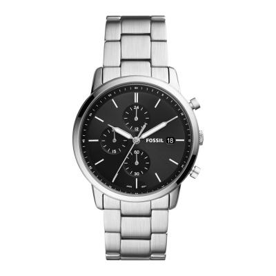Fossil Minimalist Chrono horloge FS5847