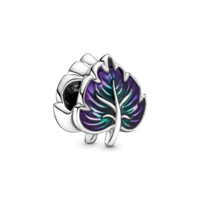 Pandora Passions Purple & Green Leaf Bedel 799542C01