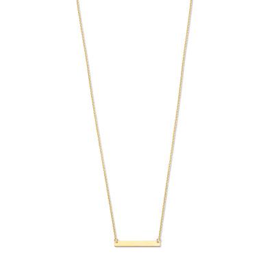Isabel Bernard 14 Karaat Gouden Monceau Lise Ketting IB1001128 (Lengte: 42.00-44.00 cm)