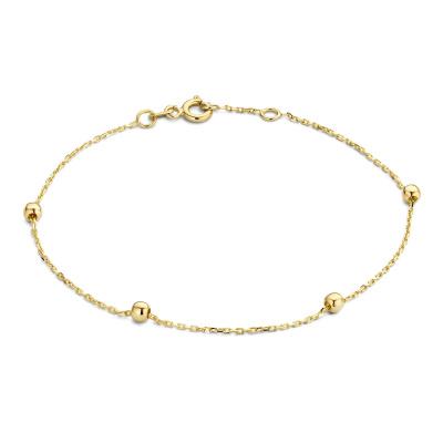 Isabel Bernard 14 Karaat Gouden Rivoli Elodie Armband IB200116 (Lengte: 17.50-18.50 cm)
