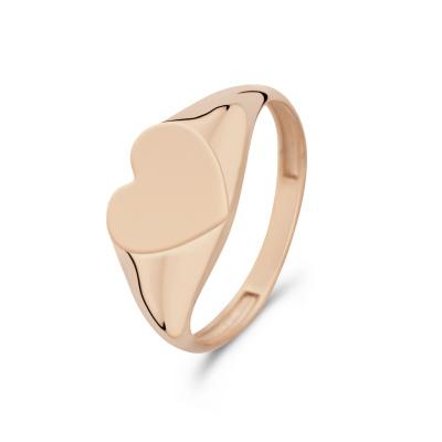 Isabel Bernard La Concorde Lauren 14 Karaat Rosé Gouden Ring IB330030