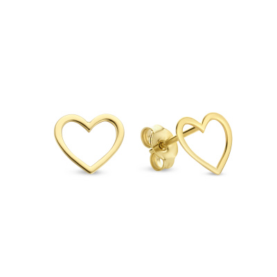 Isabel Bernard Belleville Amore 14 Karaat Gouden Oorbellen IB360090
