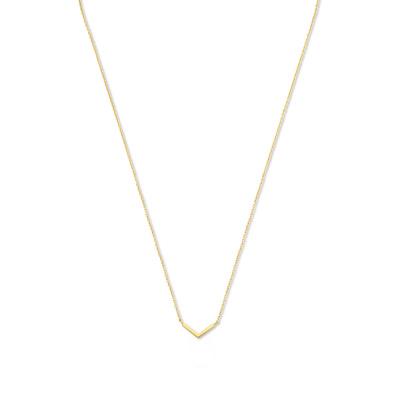 Isabel Bernard 14 Karaat Gouden Monceau Violette Ketting IB1001115 (Lengte: 40.00-44.00 cm)