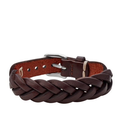 Fossil Vintage Casual Heren Armband van Leer JF03851040