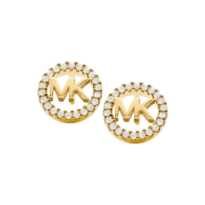 Michael Kors 925 Sterling Zilveren Goudkleurige Love Oorbellen MKC1247AN710