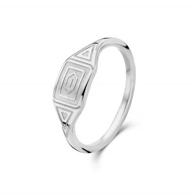 May Sparkle Summer Breeze Liv Zilverkleurige Ring MS330011