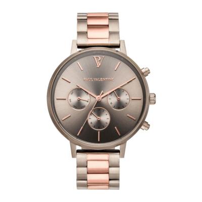 Paul Valentine Khaki horloge PVT38181202
