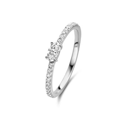 Parte Di Me Bella Vita Milena 925 Sterling Zilveren Ring PDM33009
