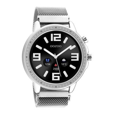 OOZOO Zilverkleurig Display Smartwatch Q00305