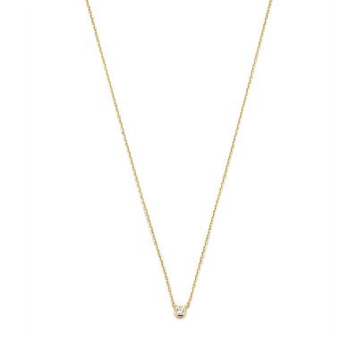 Selected Jewels Julie Romy 925 Sterling Zilveren Goudkleurige Ketting SJ340021