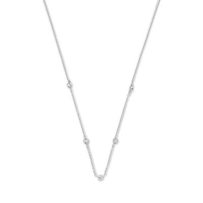 Selected Jewels Mila Elodie 925 Sterling Zilveren Ketting SJ340025