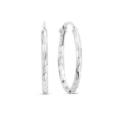 Selected Jewels Zoé 925 Sterling Zilveren Creolen SJ360044
