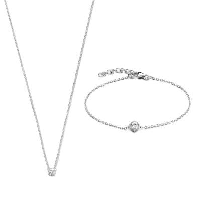 Selected Jewels Lily Bracelet,Necklace SJSET1330085