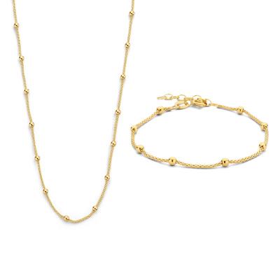 Selected Jewels Lily Bracelet,Necklace SJSET2100897