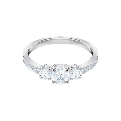 Swarovski Attract Trilogy White Ring
