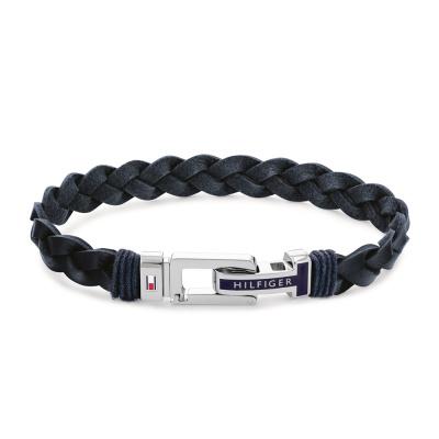 Tommy Hilfiger Blauwe Armband TJ2790308 (Lengte: 21.00 cm)