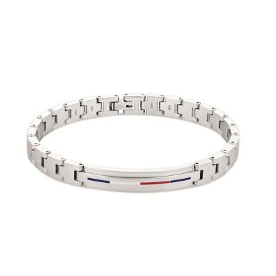 Tommy Hilfiger Zilverkleurige Armband TJ2790313 (Lengte: 20.00 cm)