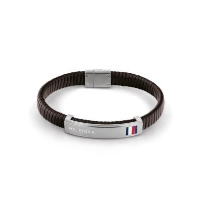 Tommy Hilfiger Bruine Armband TJ2790348 (Lengte: 21.00 cm)