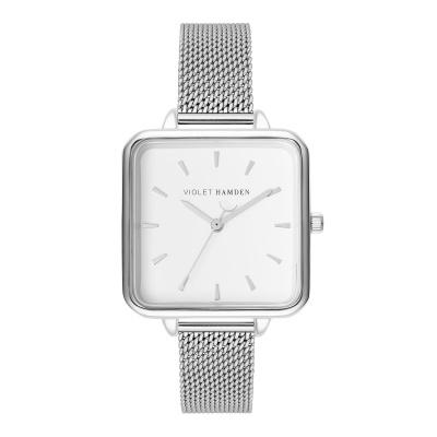 Violet Hamden Zilverkleurig Dawn horloge VH02003