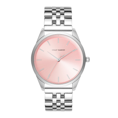 Violet Hamden Serene City Zilver -en Rosegoudkleurig horloge VH04002