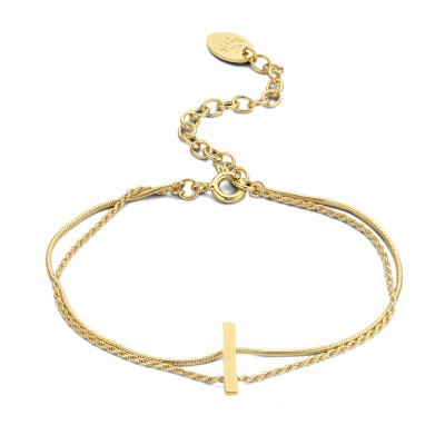 Violet Hamden Sisterhood Moonscape 925 Sterling Zilveren Goudkleurige Armband VH12032