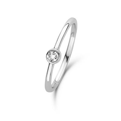 Violet Hamden Venus April 925 Sterling Zilveren Ring Met Geboortesteen VH330007APR