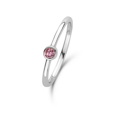 Violet Hamden Venus October 925 Sterling Zilveren Ring Met Geboortesteen VH330007OCT