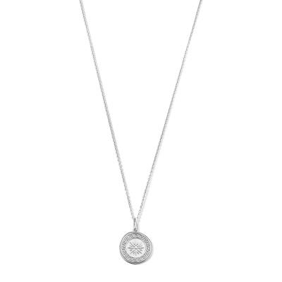 Violet Hamden Athens 925 Sterling Zilveren Ketting VH340008 (Lengte: 40.00-45.00 cm)
