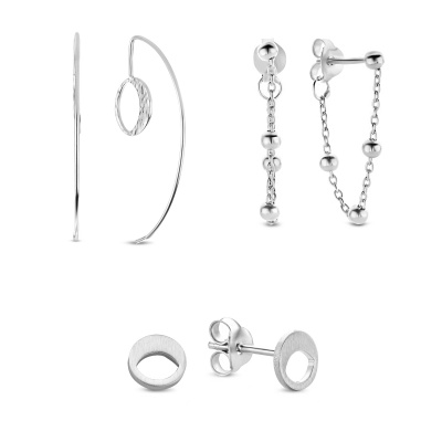 Violet's Gift 925 sterling zilveren earparty set VH90036