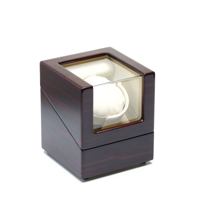 Wood Grain Single Watchwinder WW-10EW